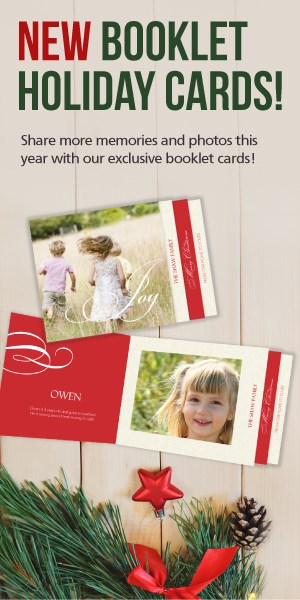 Booklet Holiday Cards